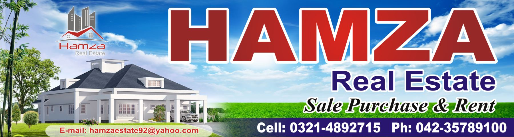 Hamza Real Estate 123 Upper Mall international hotel Lahore | Lahore